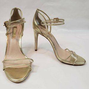 BCBGeneration Womens Jakalyn Sandals Gold 8.5M
